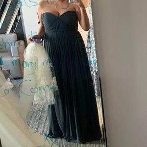 Jenny Yoo Bridesmaid Dress - storm